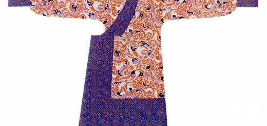 汉朝女子服饰:汉代直裾女服