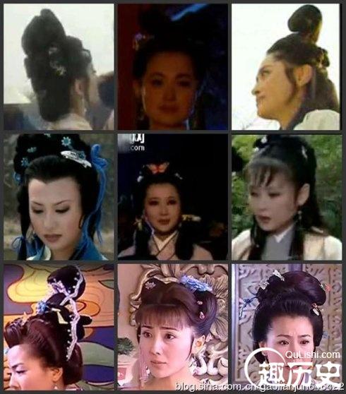宋朝服饰:宋代女子发型图片